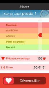 maximum pulsation cardiaque